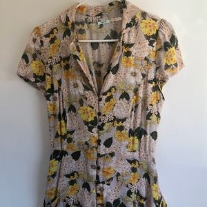 Yellow floral Jumper